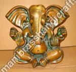 Buy cheap Appu Ganesh Brass Statue from wholesalers
