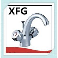 Buy cheap Brass Body Zinc Double Handle Basin Faucet from wholesalers