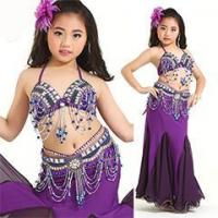 Buy cheap Sexy Purple Children Performance Belly Dance Costume,Belly Dance Kids Costume from wholesalers