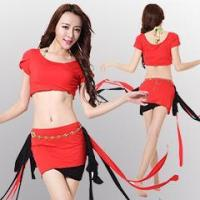 Buy cheap Sexy Fashion Belly Dance Practice Lesson Wear,Belly Dance Tassel Lesson Set from wholesalers