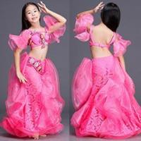 Buy cheap Glorious Fuschia Performance Belly Dance Kids Costume,Children Belly Dance Wear from wholesalers