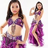 Buy cheap Popular Children Dance Clothing Belly Dance Bra Costume,Belly Dance Kids Costume from wholesalers