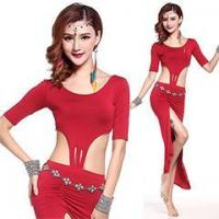 Buy cheap Latest Design Belly Dance Practice Dress Costume,Belly Dance Performance Costume from wholesalers