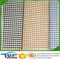 Buy cheap Fabrics For Garment newest 2017 wholesale plain woven 100% shirt yarn dyed cotton fabric from wholesalers