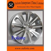 Buy cheap SZ403/17 Silver machine face replica aluminum wheels for Mondeo IVCT Ford replica wheels from wholesalers