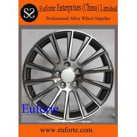 Buy cheap SA1099 / 17 18 19 and 20 black machinef ace aluminum alloy wheels for S550 Mercedes-Benz Replica from wholesalers