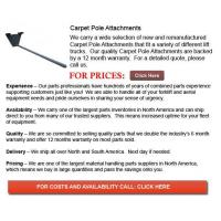 Buy cheap Carpet Pole Attachments from wholesalers
