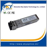 Buy cheap 300m 850nm, SFP+ Transceiver Module,10GBASE-SR, Fiber Optic Transceiver from wholesalers