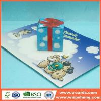 Buy cheap Handmade Card 3D Pop Up Xmas Cards To Make from wholesalers