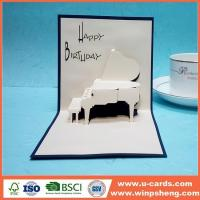 Buy cheap Handmade Card Hot Great For Design Creative Printable Handcrafted Birthday Invitation Cards from wholesalers