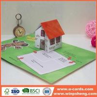 Buy cheap Handmade Card Making Anniversary Pop Up Animal Greeting Cards from wholesalers