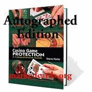 Books casino-game-protection-autographed--steve-forte for sale