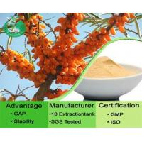 Buy cheap Sea Buckthorn Extract / Hippophae Rhamnoides Extract from wholesalers