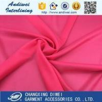 Buy cheap China wholesale 100polyester Tricot knitted fusible interlining from wholesalers