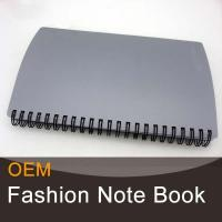 Buy cheap High quality plastic cover spiral notebook wholesale from wholesalers