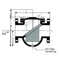 Buy cheap Strainer Class 125 /PN16*Cast Iron *Flanged End from wholesalers