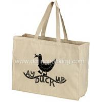 Buy cheap canvas bag Wholesale Cotton Canvas Tote Bag With Gusset from wholesalers