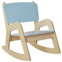 Buy cheap Children's Wooden Rocking Chair in Blue from wholesalers