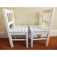 Buy cheap Wooden Children's Chairs WHITE FOR SALE from wholesalers