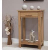 Buy cheap Opus Oak Small Hall Console Table from wholesalers