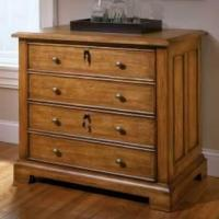 Buy cheap Oak-Wood-Lateral-File-Cabinet-with-4-Drawer from wholesalers