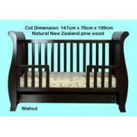 Buy cheap Baby Sleigh Cot 3 in 1 with Mattress from wholesalers
