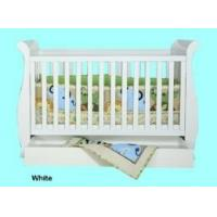 Buy cheap 3 in 1 Wooden Baby Cot Sleigh Bed from wholesalers