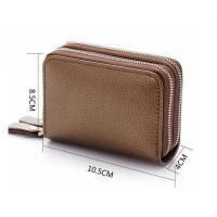 Buy cheap H1218 Classical woman genuine leather wallet from wholesalers