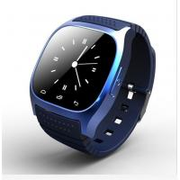 Buy cheap Blue Bluetooth Smart Wrist Watch Phone Mate For IOS Android iPhone Samsung HTC from wholesalers