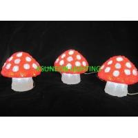 Buy cheap LED-C3DML-08 PRODUCT NAMELED 3D Mushroom motif lights from wholesalers