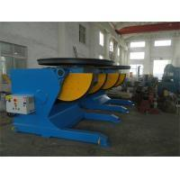 Buy cheap Rotary And Tilting Manual Welding Positioners, 5000 kg Electric Rotary Welding Positioner from wholesalers