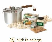 Buy cheap DIY Organic Popcorn Snack Set from wholesalers