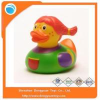 Plastic PVC Material Rubber Duck Type Baby Bath Toy