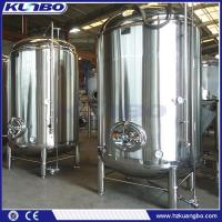 Buy cheap Bright Tank 500L - 4000L Beer Storage Bright Tank from wholesalers