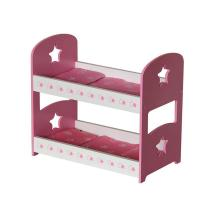 Buy cheap doll furniture wooden doll bunk bed from wholesalers