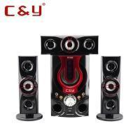 Buy cheap C&Y A22 3.1 New product stereo sound system home theater speaker with bluetooth FM from wholesalers