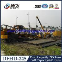 Buy cheap Horizontal Directional Drilling Rig DFHD-245 with 2480KN Pull Capacity, HDD drilling rig from wholesalers