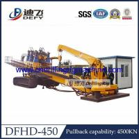 Buy cheap 450Ton Pull Capacity DFHD-450 Trenchless Horizontal Directional Drilling Machine HDD Rig from wholesalers
