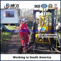 Buy cheap XY-200F Portable water well and core sampling drilling rig with mud pump from wholesalers