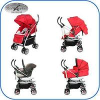 Buy cheap 3 in 1 baby stroller 1109A adjstable handle bar china baby stroller travel system stroller en1888 from wholesalers