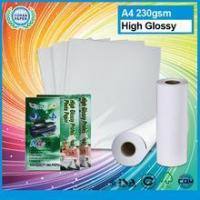 Buy cheap High quality cast coated glossy photo paper wholesale fuji inkjet high glossy photo paper from wholesalers