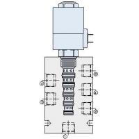 Buy cheap Solenoid On/Off Valves Spool-Type, 6-Way, 2-Position Valves from wholesalers