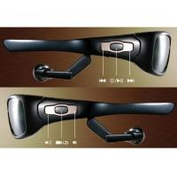 Buy cheap Spy Sunglasses Camera DVR with Detachable Earphone MP3 Player 4GB from wholesalers