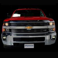 Buy cheap 2015 Chevrolet Silverado HD Putco Luminix High Power LED Fog Lights (W/ H16 harness) from wholesalers