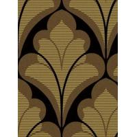 China Wallpaper: Contemporary/Abstract: Scrolls-leaf and ironwork: PatternID SBK20329 on sale
