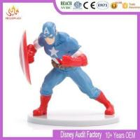Buy cheap Customized plastic Captain America Hero figure Fantastic movie Action figure from wholesalers