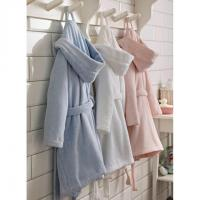 Buy cheap Childrens Zero-Twist Pure Cotton Bathrobe with Hood from wholesalers