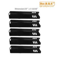 Buy cheap 91591 5Pk Uniflame BBQ Gas Grill Replacement Porcelain Steel Heat Plate from wholesalers