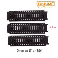 Buy cheap 94011 3Pack BBQ Barbecue Replacement Gas Grill Porcelain Steel Heat Plate Shield Tent Diffuser from wholesalers