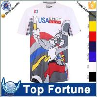Buy cheap unisex l over sublimation printing blank wholesale cheap t-shirt from wholesalers